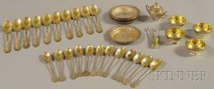 Group of Small Sterling Silver Flatware and Tableware