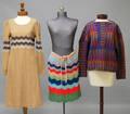 Three Vintage Missoni Wool Womens Clothing Items