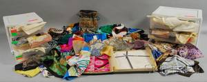 Large Collection of Scarves and Handkerchiefs