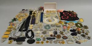 Large Group of Assorted Jewelry and Accessories