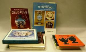 Approximately Sixtyfive Wedgwood British Ceramics and Glass Related Reference Books