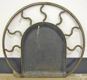 Cast iron architectural element