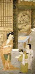 Asian Hanging Scroll