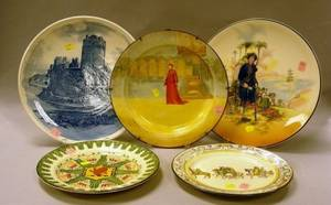 Royal Doulton Series Ware Charger Two Plates and Two Plaques