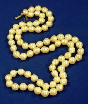 Strand of SemiBaroque Pearls
