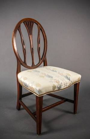 18th Century American OvalBack Side Chair