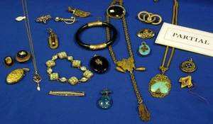 Large Group of Victorian and Vintage Jewelry