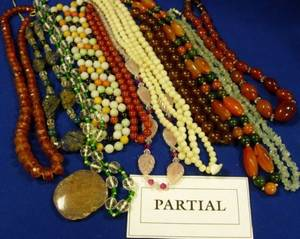 Large Assortment of Beaded Jewelry and Costume Jewelry