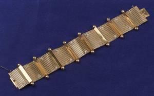 18kt Rose Gold and Diamond Bracelet