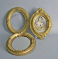 Four misc frames to include gold gilt
