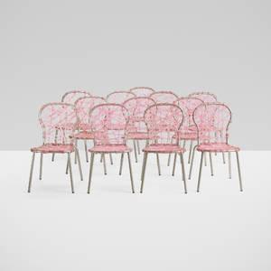 Fernando and Humberto Campana   set of twelve Zig Zag chairs from Lest Parisien