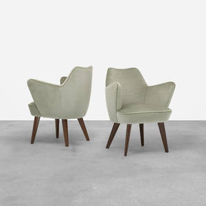 Gio Ponti   pair of armchairs from the Augustus Ocean Liner