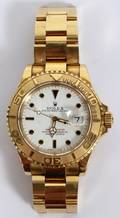 ROLEX YACHTMASTER 18KT YELLOW GOLD WRISTWATCH