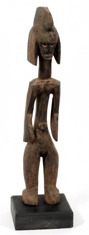 CHOMBA AFRICAN CARVED WOOD CEREMONIAL FIGURE