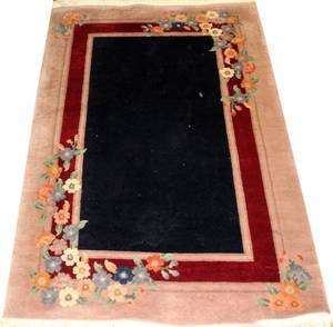 CHINESE HAND WOVEN RUG