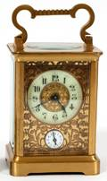 FRENCH CARRIAGE CLOCK EARLY 20TH C