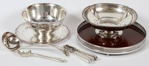 SILVERPLATE SERVING PIECES SEVEN