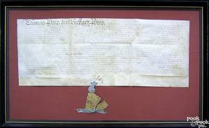 Pennsylvania indenture dated 1750