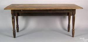New England Sheraton birch dropleaf table ca 1820