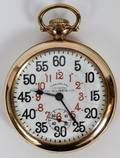 ILLINOIS GOLD PLATED POCKET WATCH