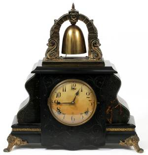 GILBERT BELL MANTLE CLOCK 1913