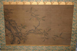 3251 ATTRIBUTED TO HAN HUI CHINESE SILK PAINTING PE