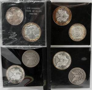 US FIVE HUNDRED YEAR SETS OF SILVER