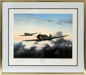 DAVID POOLE AVIATION COLOR LITHOGRAPH 1811100