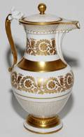 TRESSEMANN  VOGT PORCELAIN COFFEE POT