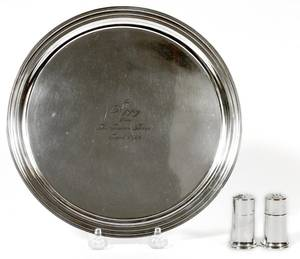 TIFFANY  CO STERLING SILVER TRAY C19403 PCS