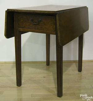 Pennsylvania walnut pembroke table ca 1800
