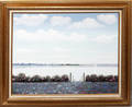 120079 A COURS OIL ON CANVAS SEA SCAPE 24 X 30