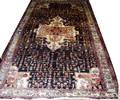 020197 BIJAR PERSIAN WOOL RUG 5 X 9 10