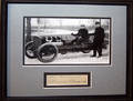 120219 BARNEY OLDFIELD AUTOGRAPH C1905 FRAMED WITH