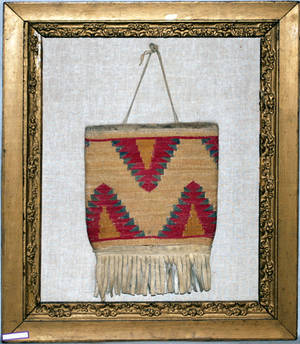 011364 NATIVE AMERICAN INDIAN HANDWOVEN CLOTH CORNHUS