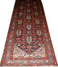 0268 MALAYER SEMIANTIQUE PERSIAN WOOL RUG 3 3 X 12