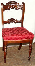 22301 VICTORIAN ROSEWOOD DINING SIDE CHAIRS SET OF 6