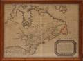 113233 MAP OF LE CANADA OU NOUVELLE FRANCE PUBLISHE