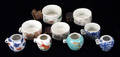 113221 CHINESE CERAMIC BIRD FEEDERS 9