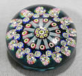 011473 MILLE FLEUR FRENCH GLASS PAPER WEIGHT