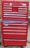 010423 CRAFTSMAN TOOL BOXES AND TOOLS LATE 20 TH C
