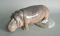 Royal Copenhagen figure of a hippo