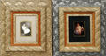 121631 VICTORIAN GESSO ON PINE FRAMES TWO 19TH CENTU