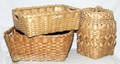 1587 NATIVE AMERICAN BASKETS FOUR