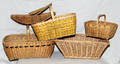 1614 NATIVE AMERICAN WOVEN BASKETS EARLY 20TH CENTURY