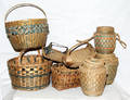 1608 NATIVE AMERICAN WOVEN BASKETS EARLY 20TH CENTURY