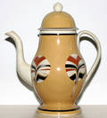 121059 MOCHAWARE COFFEE POT RAYED BALLOON PATTERN