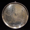 1008 ENGLISH GEORGE III STERLING SILVER SALVER THOMAS