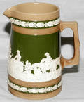 031098 COPELAND SPODE ENGLISH EARTHENWARE PITCHER