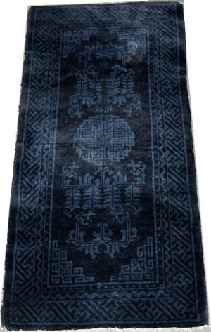061095 CHINESE ROYAL BLUE RUNNER 23 X 47